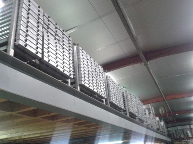 Stock pièces et produits finis pour climatiseurs et conditionneurs inox