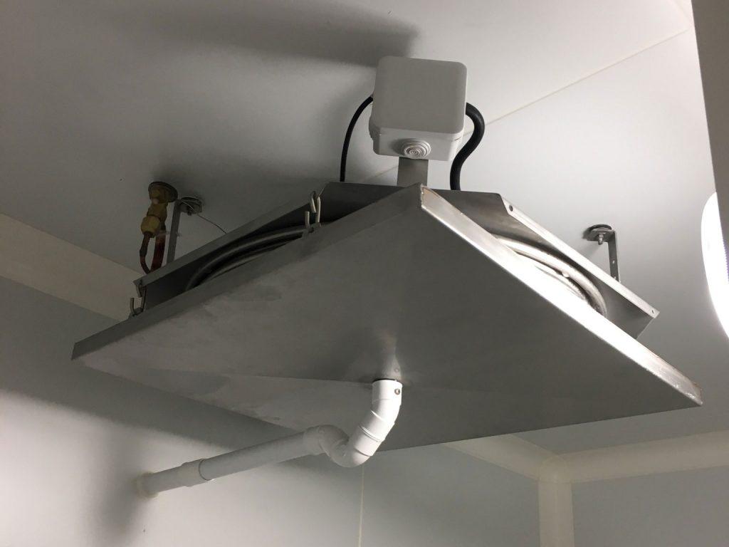CirculAir, conditionneur d'air polyvalent en inox Plafonnier