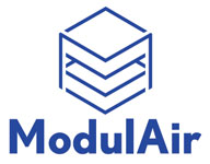 Logo ModulAir, conditionneur d'air évolutif en inox