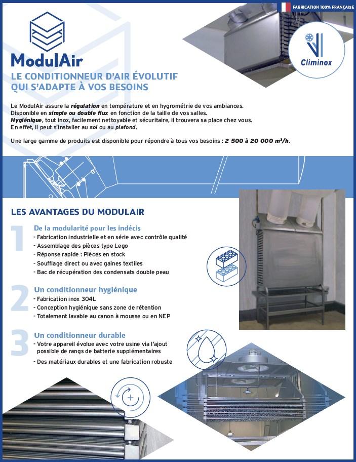 Plaquette ModulAir